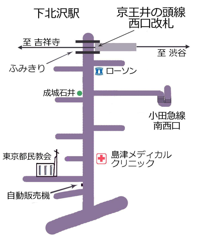 教会地図(教会の名前入り HP用)