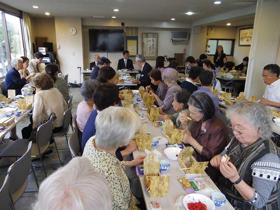 150705記念午餐会